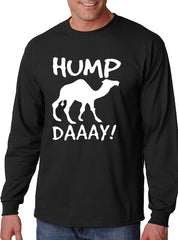 Hump Day Camel Long Sleeve Men's T- Shirt