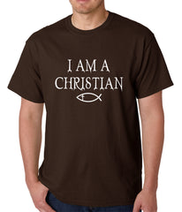 I Am A Christian Oregon College Shooting Mens T-shirt
