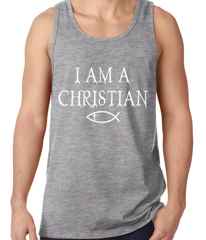 I Am A Christian Oregon College Shooting Tank Top