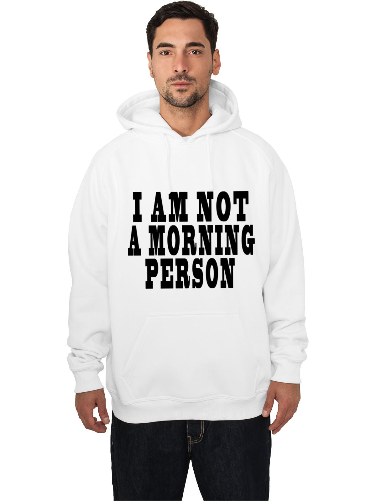 I Am Not a Morning Person Cara Delevingne Vogue Adult Hoodie