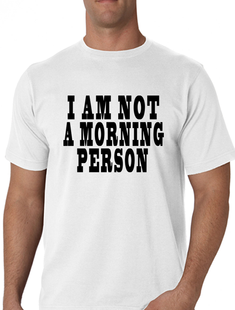 I Am Not a Morning Person Cara Delevingne Vogue Men's T-Shirt