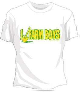 I Dig Farm Boys Girls T-Shirt