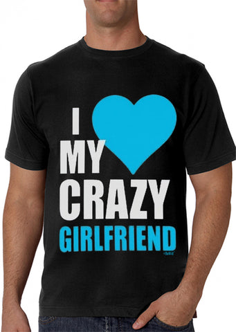 I Heart My Crazy Girlfriend Men's T-Shirt