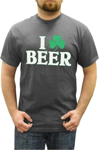 I Love Beer Shamrock T-Shirt