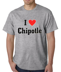 I Love Chipotle Men's T-Shirt