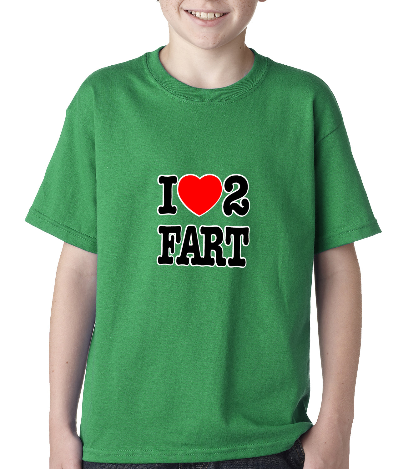 I Love Farting Kids T-shirt