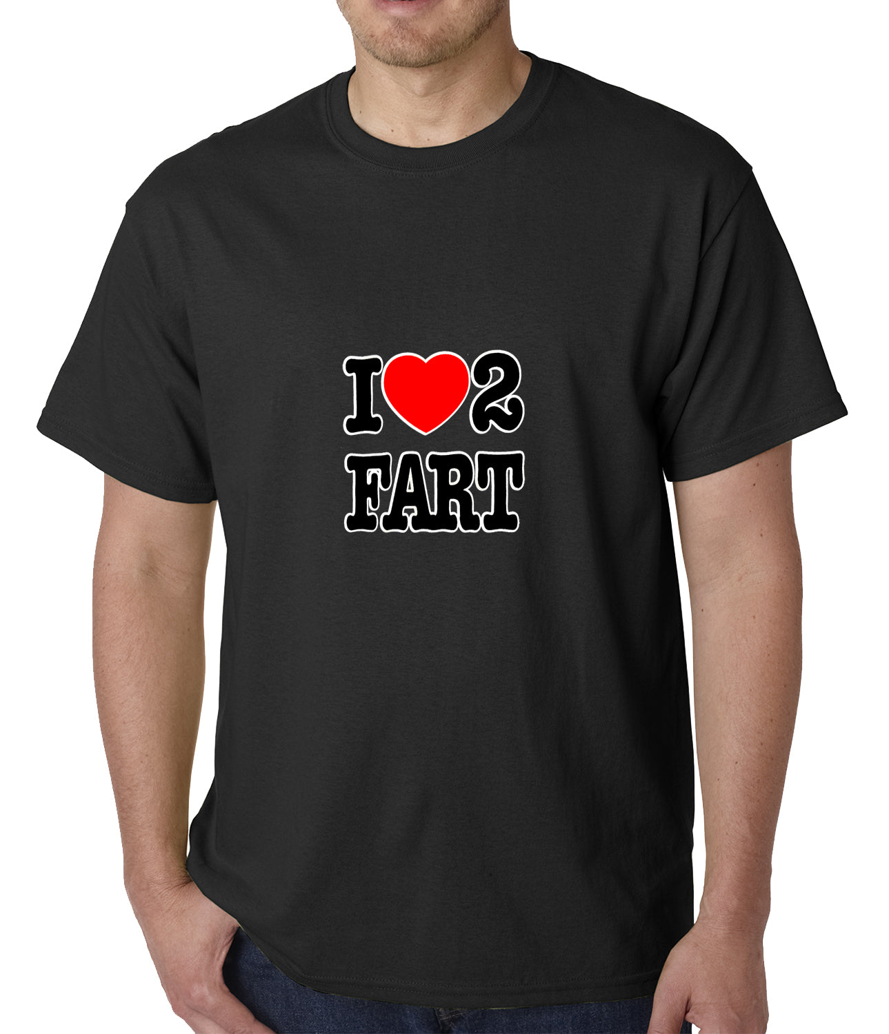 I Love Farting Mens T-shirt