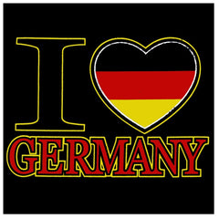 I Love Germany Mens T-Shirt
