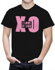 I Love It Like XO Mens T-shirt