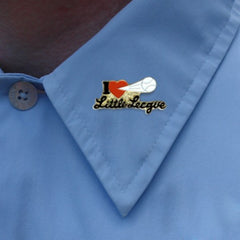 I Love Little League Lapel Pin