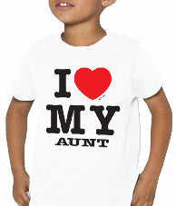 I Love My Aunt Kids T-Shirt