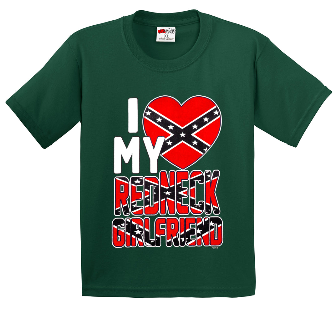 I Love My Redneck Girlfriend Men's T-Shirt