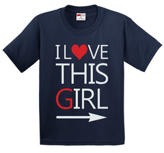 I Love This Girl Men's T-Shirt