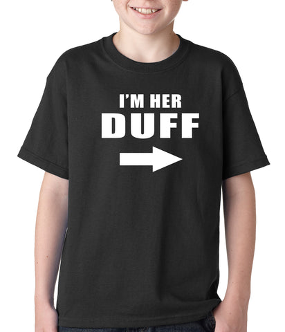 I'm Her DUFF Arrow Designated Ugly Fat Friend Kids T-shirt