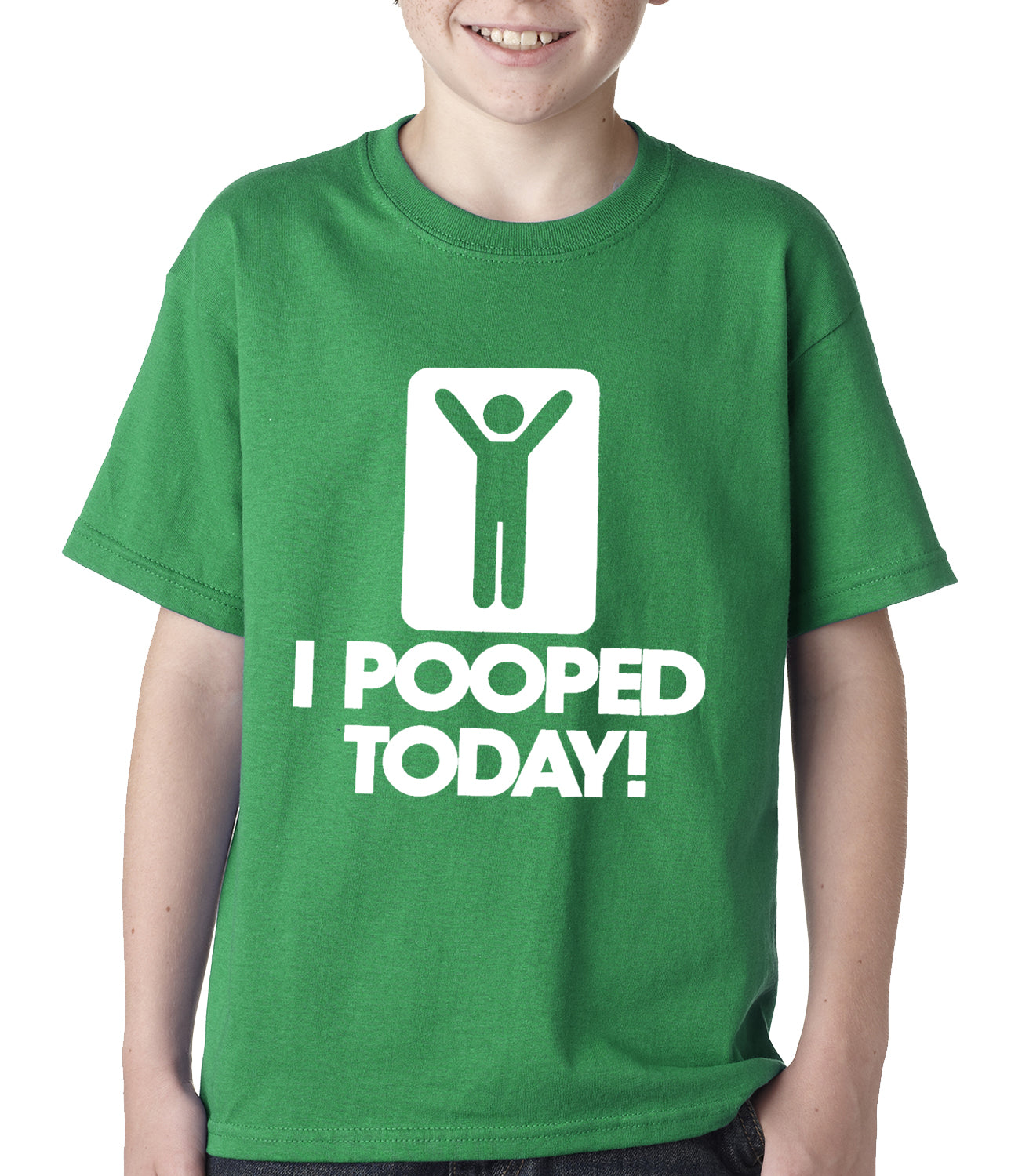 I Pooped Today Kids T-shirt