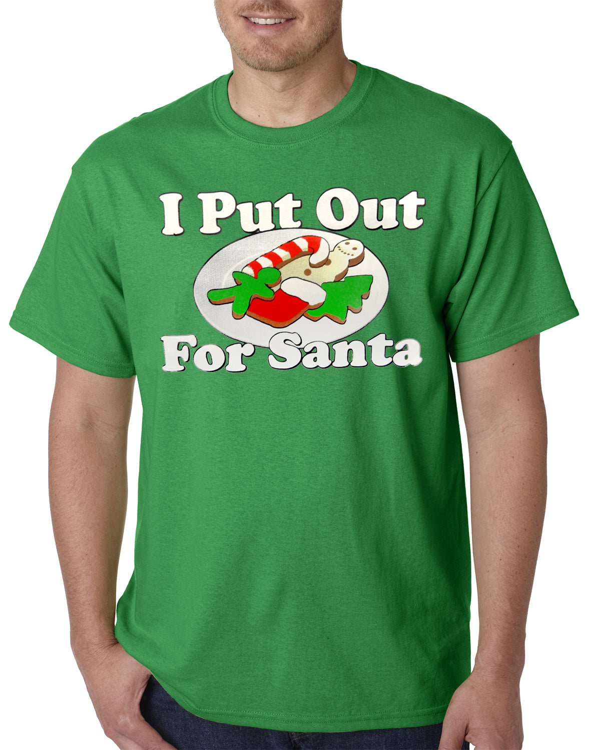 I Put Out For Santa Funny Mens T-shirt