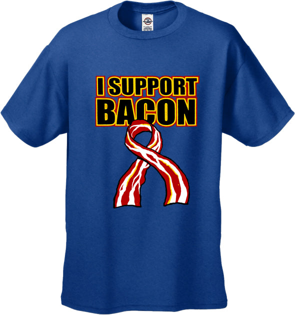 I Support Bacon Men's T-Shirt