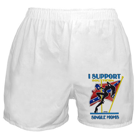 I Support Southern Single Moms Boxer Shorts