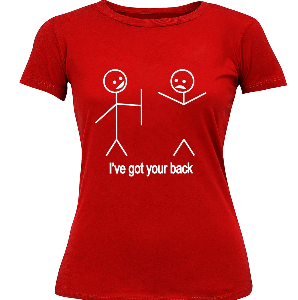 I've Got Your Back Girl's T-Shirt