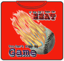 If You Can't Take The Heat (Baseball) T-Shirt (Red)