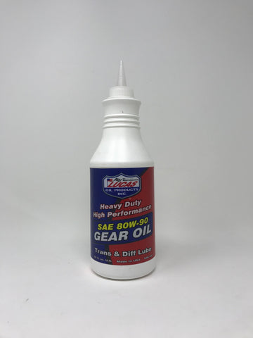 Lucas Heavy Duty Gear Oil (80W-90) Diversion Safe