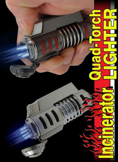 The Incinerator Quad-Torch Lighter