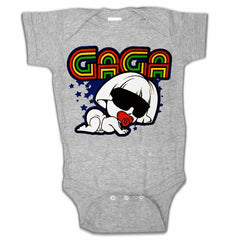 Infant Onsies - Baby GaGa Onesies Heather Grey