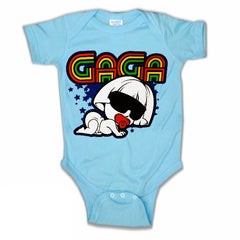 Infant Onsies - Baby GaGa Onesies Royal Blue