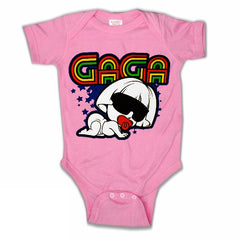 Infant Onsies - Baby GaGa Onesies Hot Pink