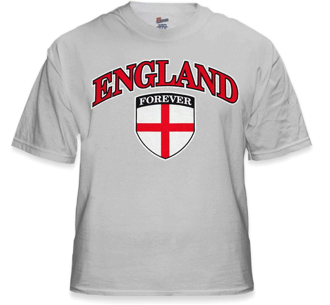 International Soccer Shirts - England Crest T-Shirt (Mens)