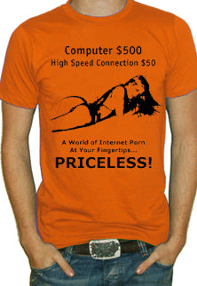 Internet Porn Priceless T-Shirt