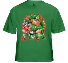 "Irish Firefighters T-Shirt - ""Fir Na Tine"" Men of Fire T-Shirt"