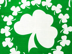Irish Four Leaf Clover Bandana