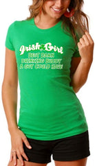 "Irish Girl ""Best Drinking Buddy"" Girls T-Shirt"