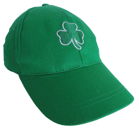 Irish Green Shamrock Baseball Hat