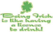 Irish License To Drink T-Shirt