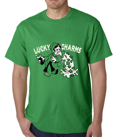 Irish Lucky Charms Funny Drinking Mens T-shirt