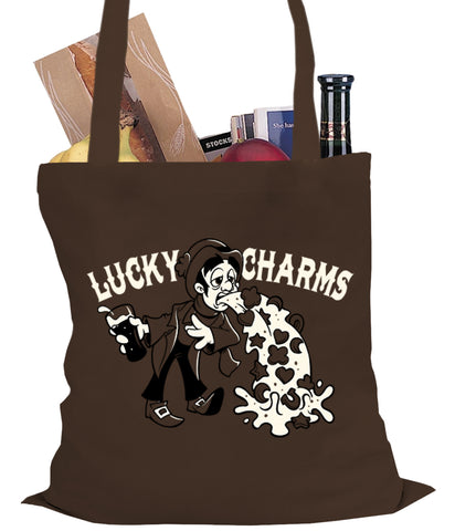 Irish Lucky Charms Funny Drinking Tote Bag