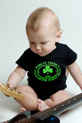 Irish Made In America With Irish Parts Babys Onesies