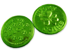 Irish Shamrock Lucky Coins