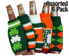 Irish St. Patrick's Day Bottle Cozy (Assorted 6 Pack)