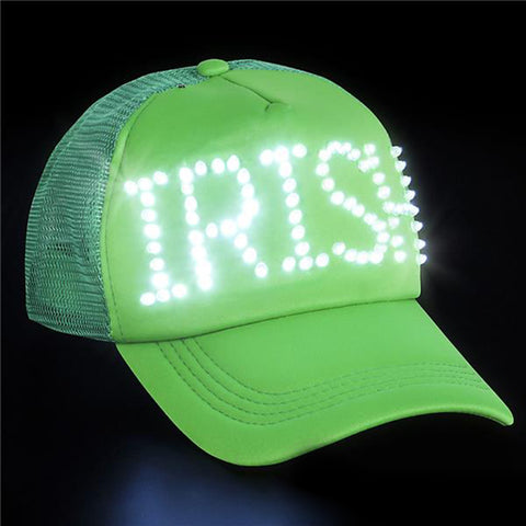 Irish St. Patrick's Day Light Up LED Trucker Hat