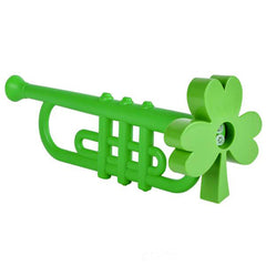 Irish St. Patrick's Day Shamrock Trumpet (12- Pack)