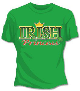 Irish T-Shirts : Irish Princess Girls T-Shirt