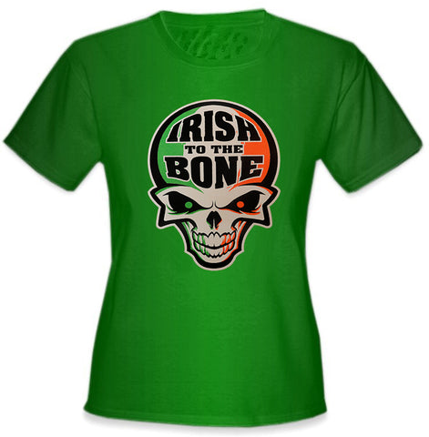 Irish To The Bone Girl's T-Shirts