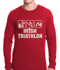 Irish Triathlon Funny St. Patrick's Day Thermal Shirt