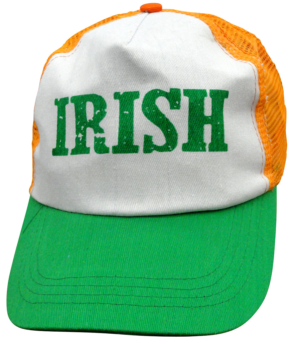 Irish Trucker Snapback Hat