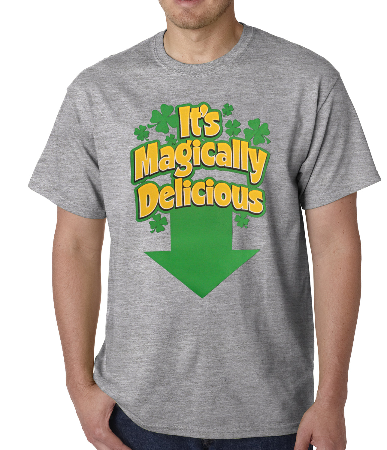 It's Magically Delicious Irish Shamrock Mens T-shirt