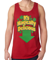 It's Magically Delicious Irish Shamrock Tanktop