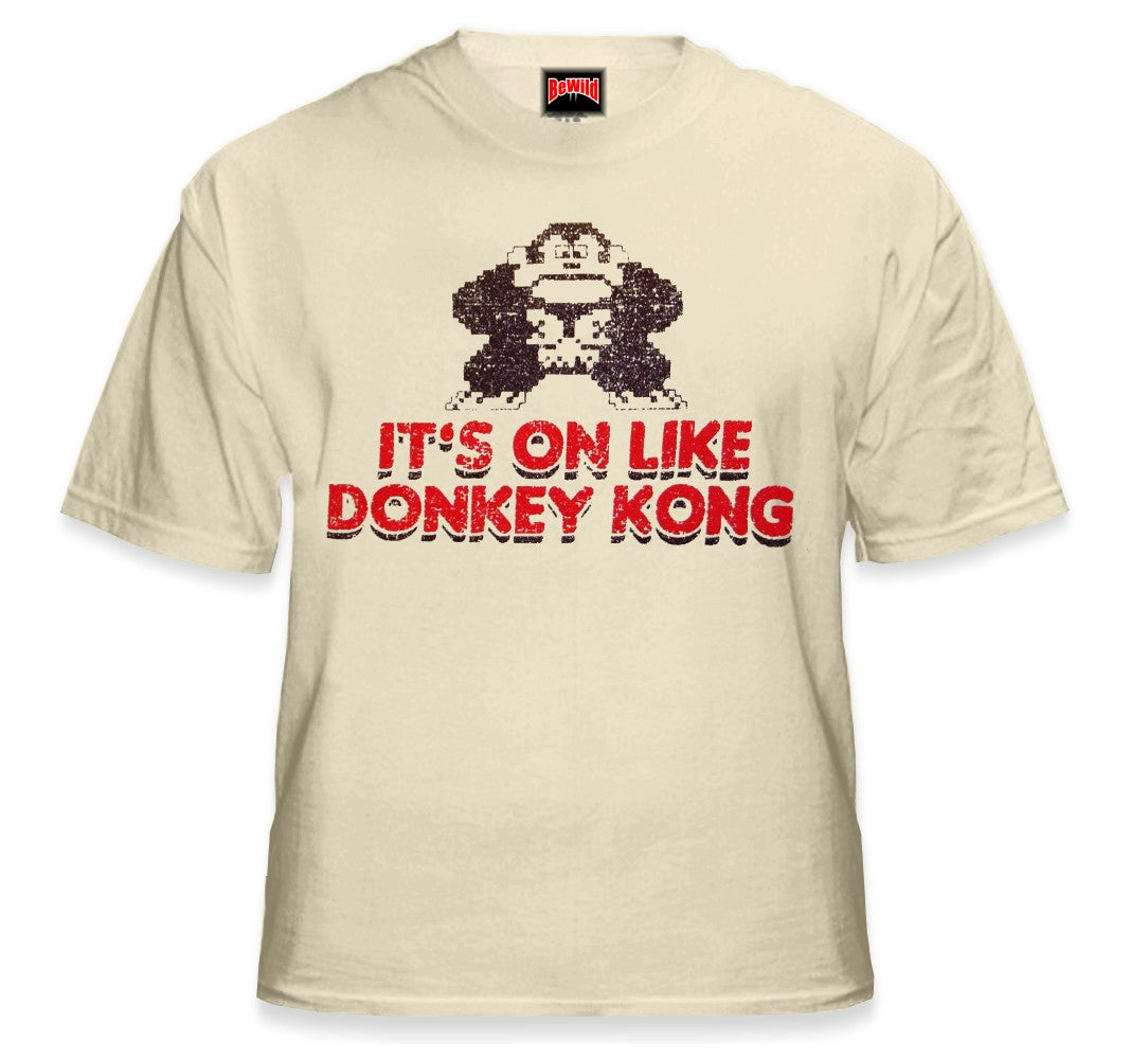 0d936d106 It's On Like Donkey Kong T-Shirt :: Vintage Gamer Tee – Bewild